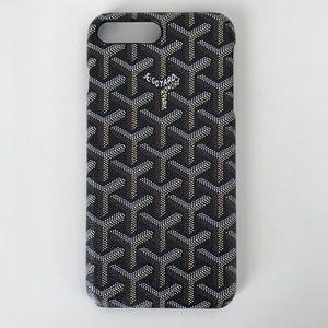 IPhone 7 Plus 8 Plus goyard case in black